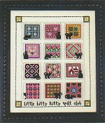 Val's Stuff - Little Bitty Kitty Quilt Club November & December THUMBNAIL