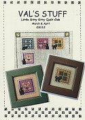 Val's Stuff - Little Bitty Kitty Quilt Club March & April THUMBNAIL
