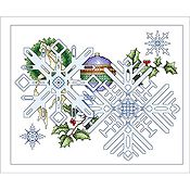 Vickery Collection - December Snowflakes
