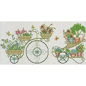 Vickery Collection - Flower Carts