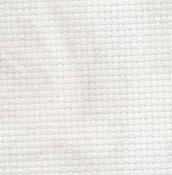 "Aida 14ct Vintage Smokey White - Fat Half (21"" x 36"" Cut) THUMBNAIL"
