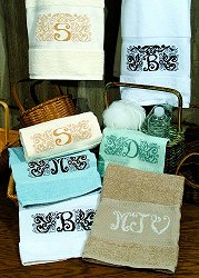 Viscose Border Hand Towel