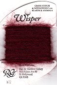 Rainbow Gallery Wisper W72 Burgundy