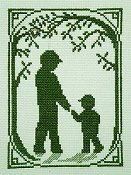Handblessings - Summer Silhouette - Walk With Dad