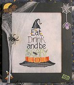 Waxing Moon Designs - Eat Drink And Be Scary THUMBNAIL