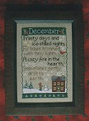 Waxing Moon Designs - Monthly Sampler Series - December