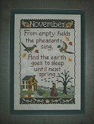 Waxing Moon Designs - Monthly Sampler Series - November 155