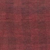 Weeks Dye Works 28ct Gingham Linen 2258 Aztec Red/Natural