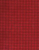 Weeks Dye Works Wool Fabric - 2268a Candy Apple Houndstooth THUMBNAIL