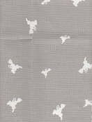 "Fabric Flair Whooligans Linen 28ct (Cut 17.5""x18.5"")"