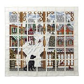 Wichelt Imports Book - Christmas Town Afghan_THUMBNAIL