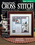 cover of stoney creek cross stitch collection magazine winter 2011