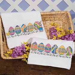 Popcorn Hand Towel 14ct White-Discontinued Sub w/ Estate Towel_THUMBNAIL