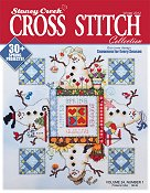 Cover photo of Winter 2012 Stoney Creek Cross Stitch Collection magazine