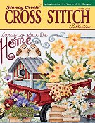 Cover photo of Winter 2014 Stoney Creek Cross Stitch Collection magazine