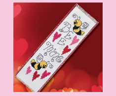Bee Mine Bookmark