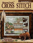 Cover photo of Winter 2015 Stoney Creek Cross Stitch Collection magazine