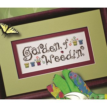 Custom Frame - Garden of Weedin'