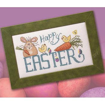 Custom Frame - Happy Easter THUMBNAIL