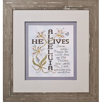 Custom Frame - He Lives