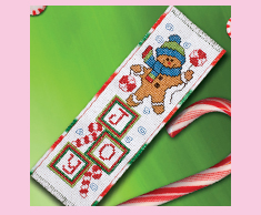 Gingerbread Joy Bookmark