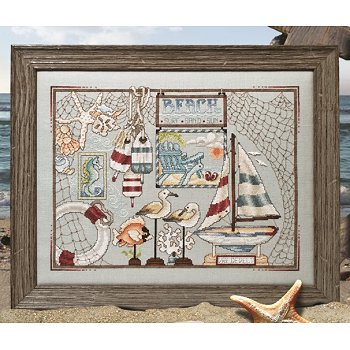 Custom Frame - Beach Bounty