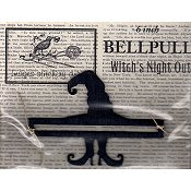 "Bell Pull - 5"" Witch's Night Out"