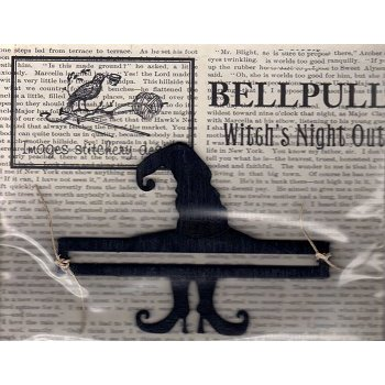"Bell Pull - 5"" Witch's Night Out THUMBNAIL"