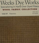 Weeks Dye Works Wool Fabric - 1232 Palomino Houndstooth