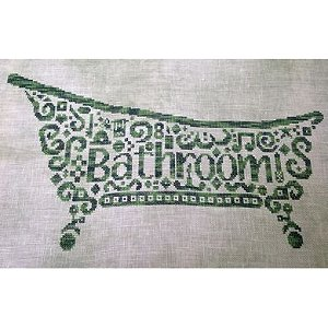 White Willow Stitching - Tribal Bathroom MAIN