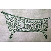 White Willow Stitching - Tribal Bathroom