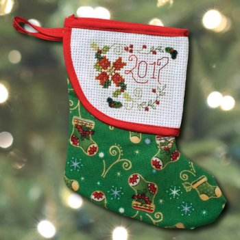 Mini Stocking - Green - Sold Out