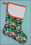 Pre-finished Christmas Stocking - Christmas Carolers