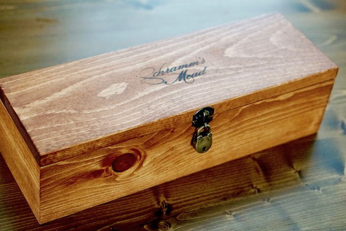 Wooden Mead Box