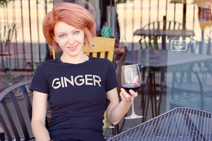 Ladies Ginger Tee THUMBNAIL