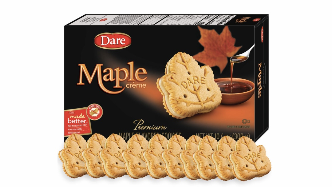 Dare Maple Leaf Creme Cookies THUMBNAIL