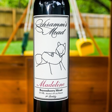 Madeline 5th Birthday 375ml THUMBNAIL