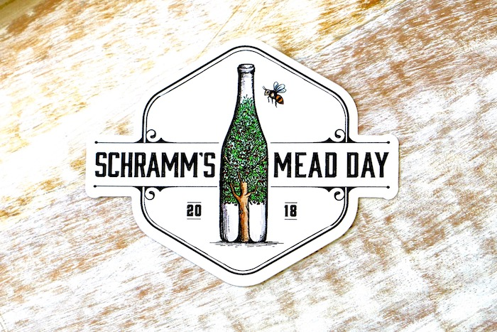 Mead Day Sticker