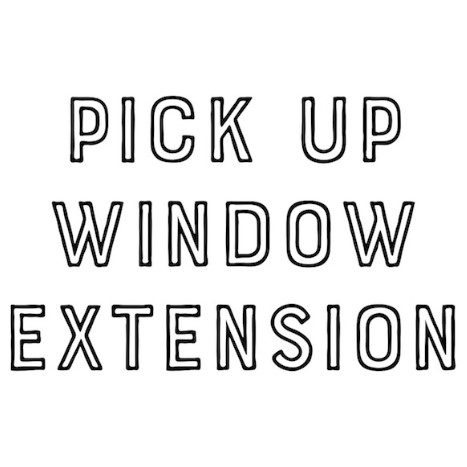 Pick Up Window Extension THUMBNAIL