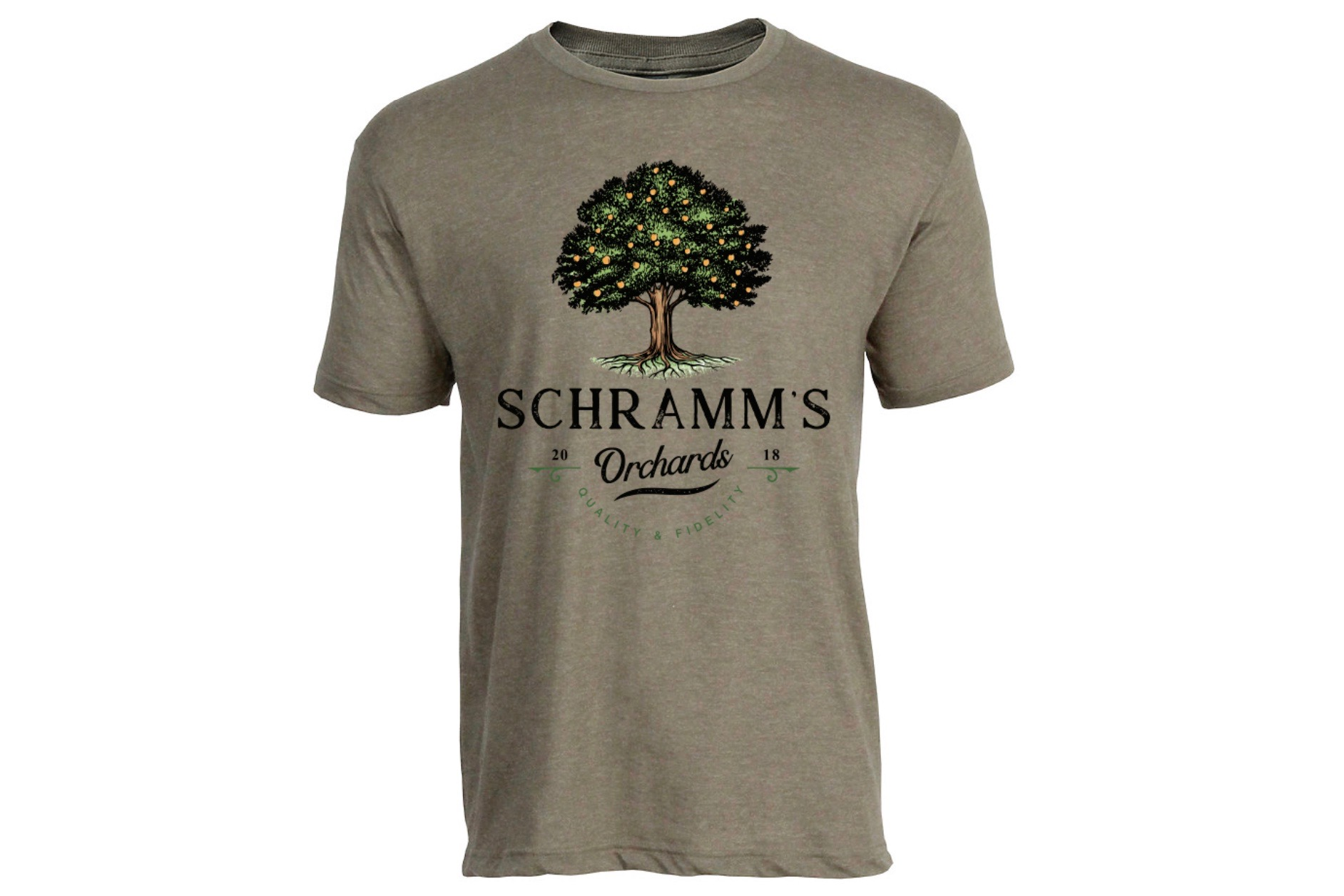 Schramm's Orchards Tee SWATCH