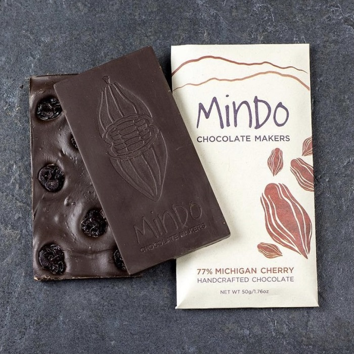 Michigan Cherry Chocolate Bar THUMBNAIL