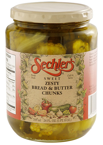 Zesty Bread & Butter Chunks