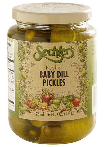Kosher Baby Dill Pickles THUMBNAIL