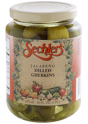Jalapeno Dill Gherkins