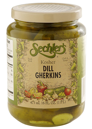 Kosher Dill Gherkins