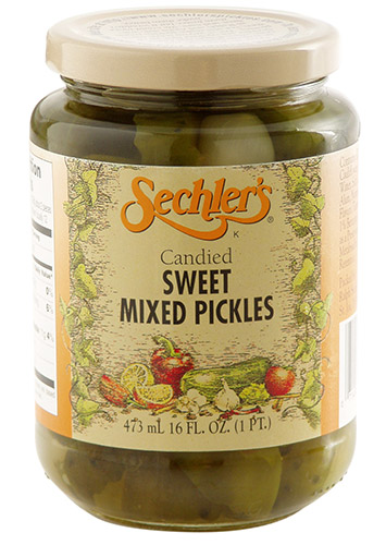 Candied Sweet Mix Pickles
