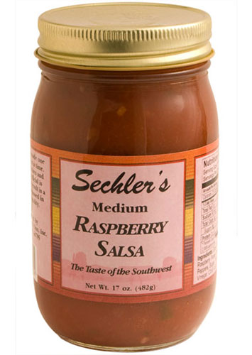 Medium Red Raspberry Salsa THUMBNAIL