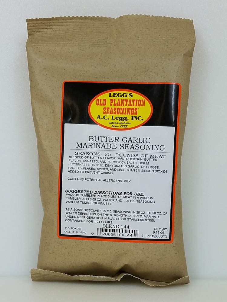 AC Leggs Butter Garlic Marinade Blend 144