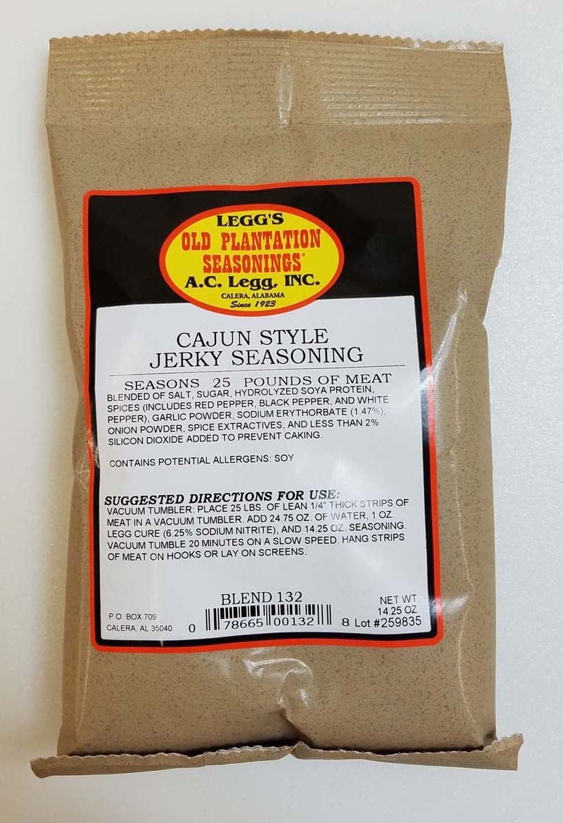 AC Leggs Cajun Jerky Seasoning Blend #132 THUMBNAIL