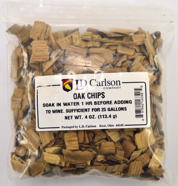 American Oak Chips 4 OZ LARGE